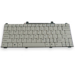 Silver Keyboard for Dell Inspiron 710m