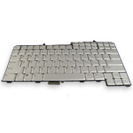 Silver Keyboard for Dell XPS M1710 and Precision M90
